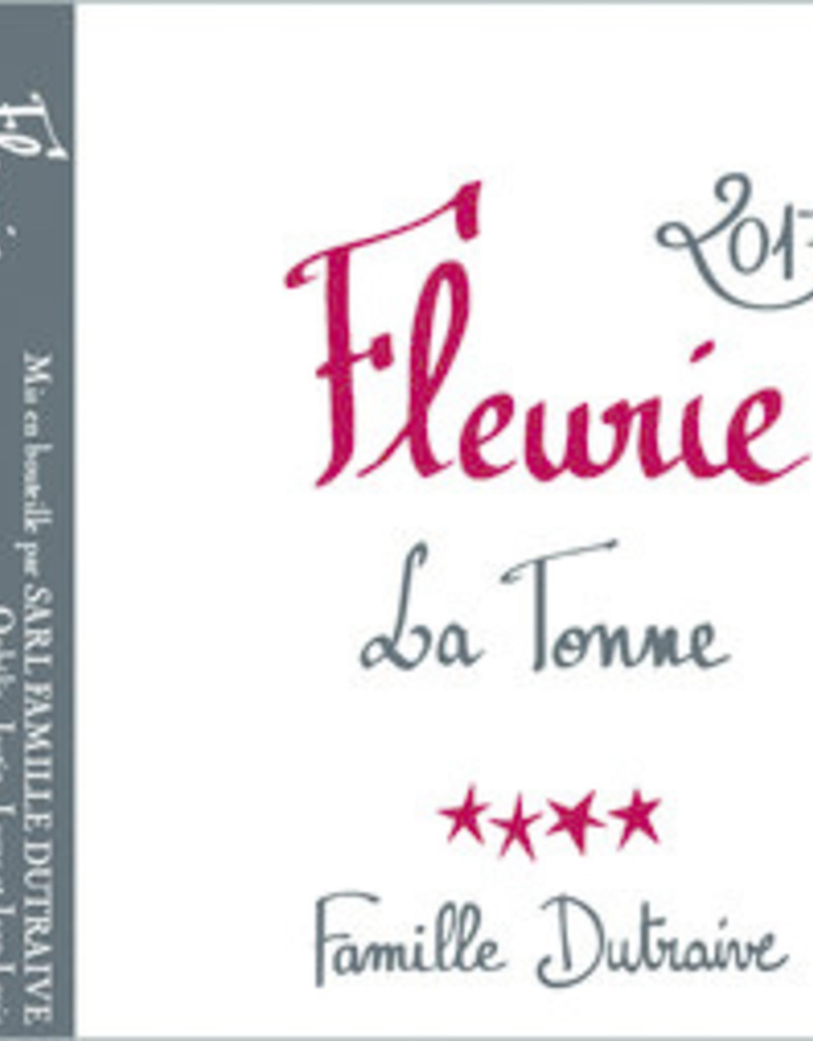 Dutraive Fleurie AOC La Tonne