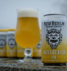 New Realm Hazy Like A Fox IPA 6/12