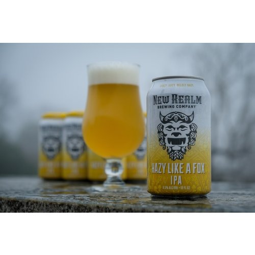 New Realm Hazy Like A Fox IPA 6/12