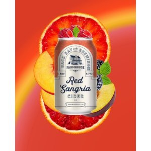 Back Bay's Farmhouse Red Sangria Cider 6/12