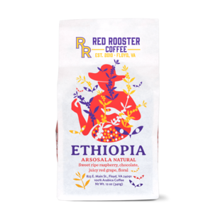 Red Rooster Ethiopia Arsosala Natural Coffee