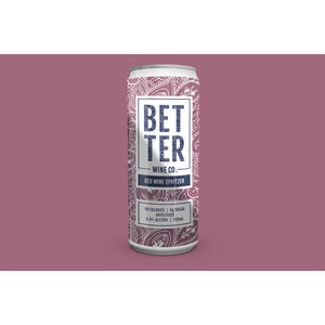 Better Wine Co. Red Wine Spritzer 4/250ml
