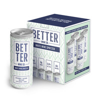 Better Wine Co. White Wine Spritzer 4/250ml