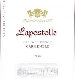 Lapostolle Lapostolle Grand Selection Carmenere