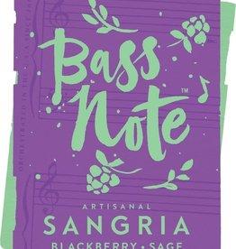 Bass Note Artisanal Sangria Blackberry Sage
