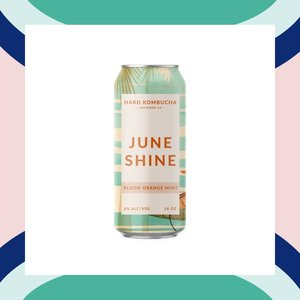 JuneShine Blood Orange Mint Hard Kombucha 16oz