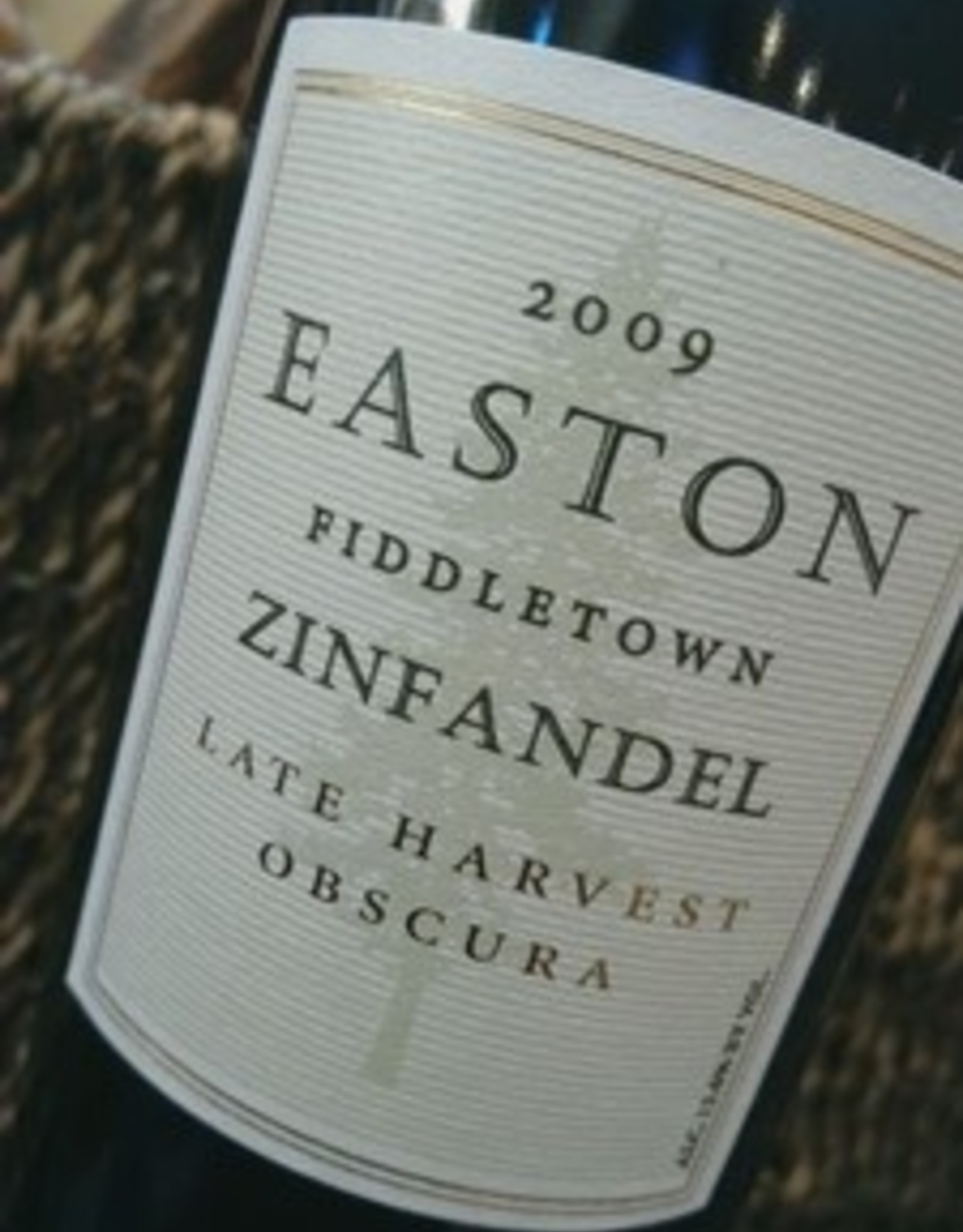 Easton Fiddletown Very Late Harvest Zinfandel Obscura 375ml