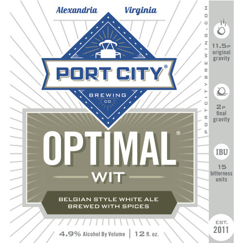 Port City PCBC Optimal Wit 12oz