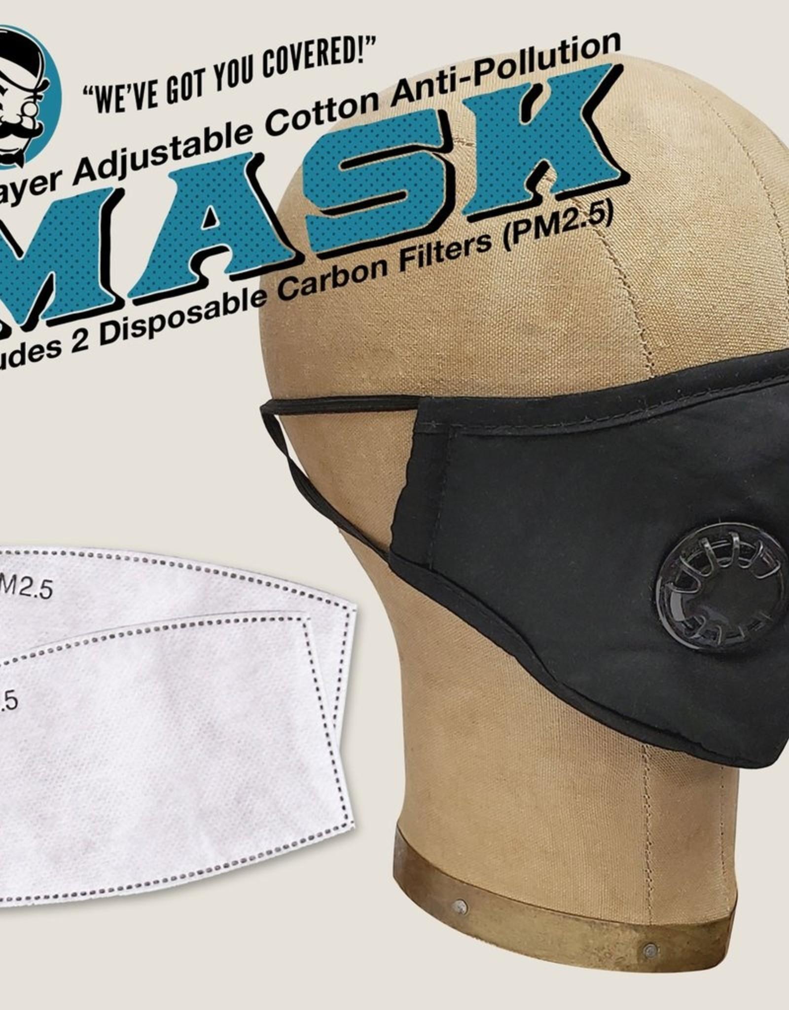 Trixie & Milo Reusable Face Mask - Black