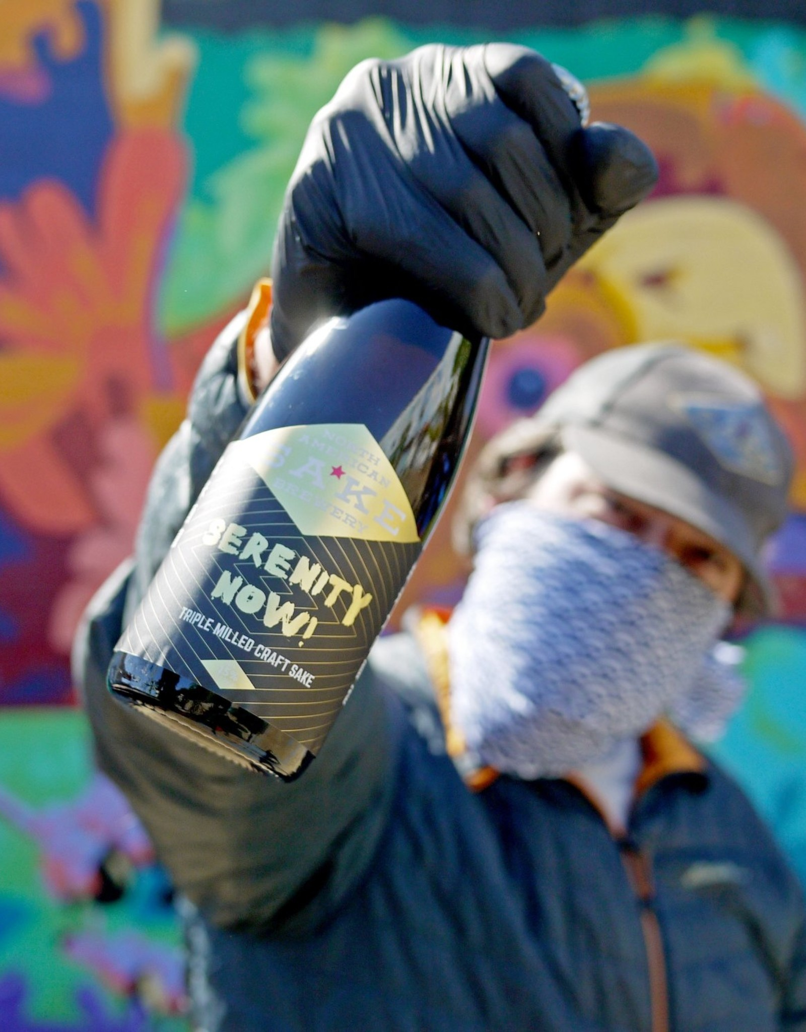 North American Sake Brewery North American Sake Brewery Serenity Now! Sake 375ml