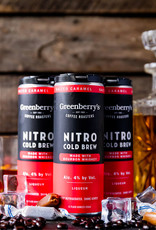 Greenberry's Salted Caramel Nitro Cold Brew 4/12