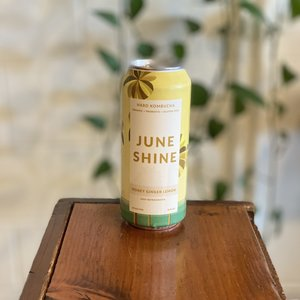 JuneShine Honey Ginger Lemon Hard Kombucha 16oz