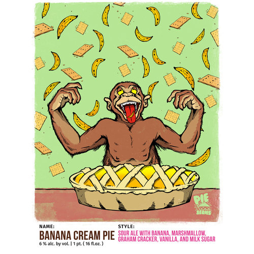 Tripping Animals Banana Cream Pie 4/16