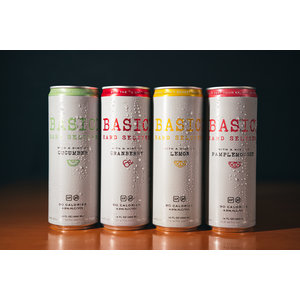 Basic Hard Seltzer Variety Pack 12/12