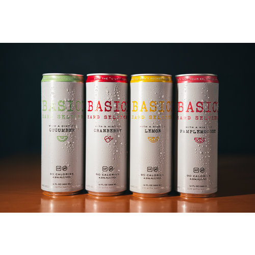 Basic Hard Seltzer Variety Pack 12/12