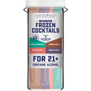Cutwater Frozen Cocktails Variety Pack 12/3