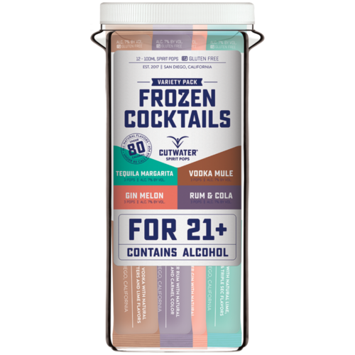 Cutwater Frozen Cocktails Variety Pack