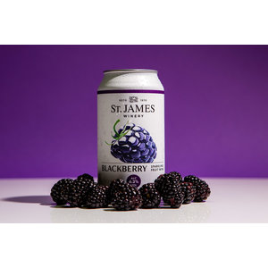 St. James Blackberry Sparkling Wine 375ml