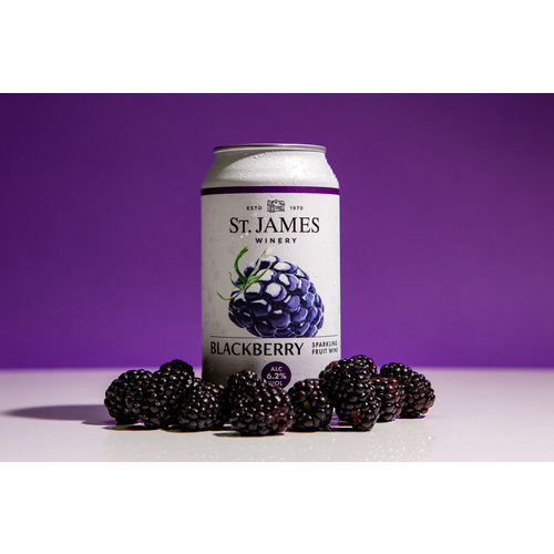 St. James Blackberry Sparkling Wine 375ml