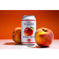 St. James Peach Sparkling Wine 375ml