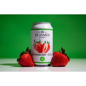 St. James Strawberry Sparkling Wine 375ml