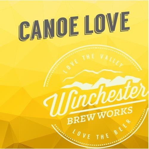 Winchester Canoe Love American Ale 4/16