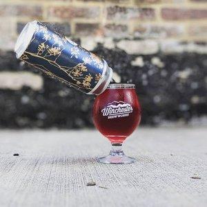 Winchester Blueberry Seltzer 16oz