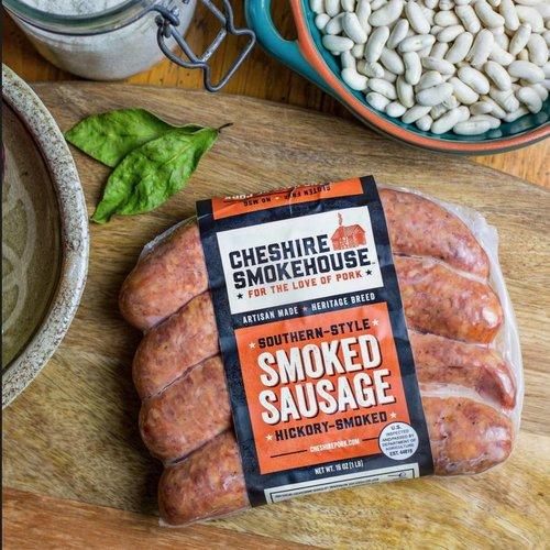 Cheshire Pork Southern Style Smoked Sausage