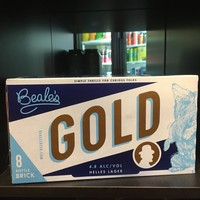 Beale's Gold Helles Lager 8/11.2