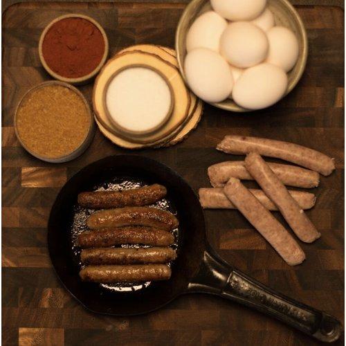 Cheshire Pork Fingerlink 1oz Breakfast Sausage 1Lb