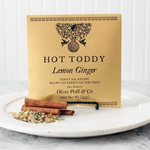 Oliver Pluff Lemon Ginger Hot Toddy