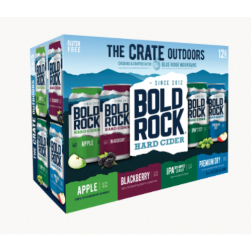 Bold Rock Crate Variety Pack 12/12