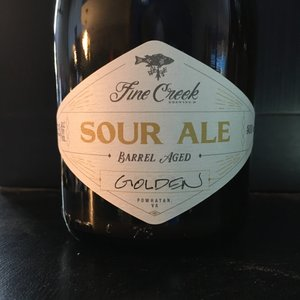 Fine Creek Wine Barrel Aged Golden Sour 500ml