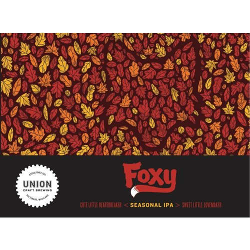 Union Craft Foxy 6/12