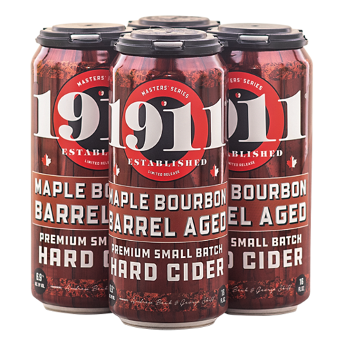 1911 Maple Bourbon Barrel Aged Cider 4/16