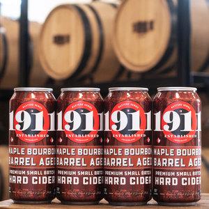 1911 Maple Bourbon Barrel Aged Cider 4/16
