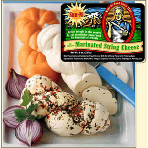 Sun-Ni Marinated String Cheese 8oz