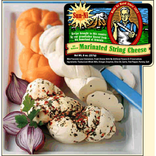 Sun-Ni Marinated String Cheese 8oz