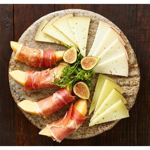 Garcia Baquero Spanish 3 Cheese Plate 5.2oz