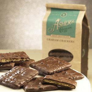 Ashers Milk Chocolate Graham Crackers 7.15oz