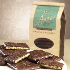 Ashers Dark Chocolate Graham Crackers 7.15oz