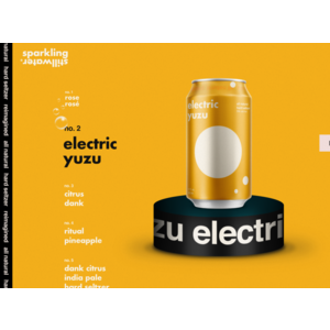 Sparkling Stillwater Electric Yuzu Hard Seltzer 4/12