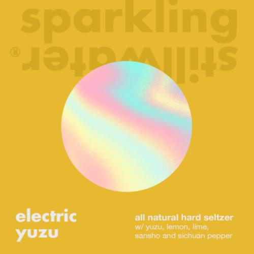 Sparkling Stillwater Electric Yuzu Hard Seltzer 4/12