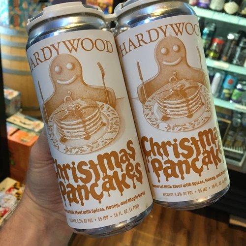 Hardywood Christmas Pancakes 4/16