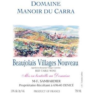 Manoir Du Carra Beaujolais-Villages Nouveau