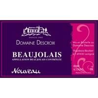 Domaine Descroix Beaujolais Nouveau