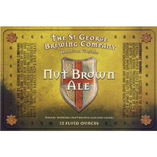 St. George Brewing Company St. George Nut Brown Ale 6/12
