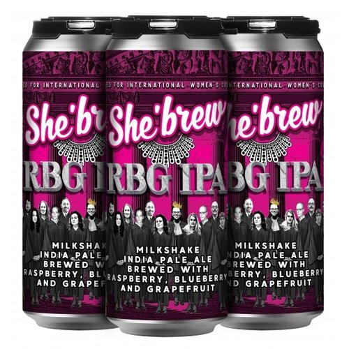 She'brew #RGB IPA 4/16
