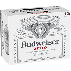 Budweiser Zero 12/12