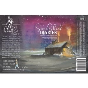 Humble Forager Sugar Shack Diaries Maple Mocha Stout 4/16